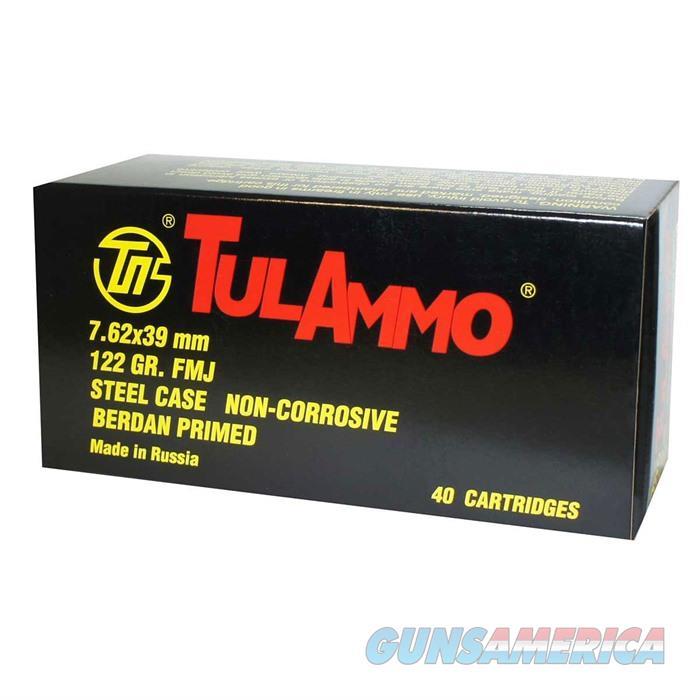 Tulammo 7.692x39 Steel Case 122gr 40/box  Non-Guns > Ammunition