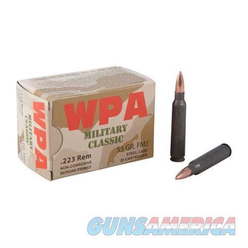 WOLF AMMO 223 55GR. FMJ CLASSIC  Non-Guns > Ammunition