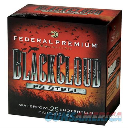 FEDERAL BLACK CLOUD FS STEEL 12 GAUGE 3.5' 1-1/2OZ #4 25/BX (25 R  Non-Guns > Ammunition