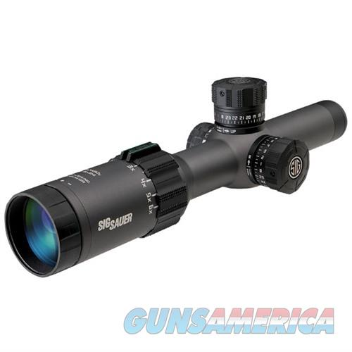 Sig Tango6 Scope, 1-6X24mm, 30mm, Sfp, Triplex Illum Reticle, 0.5  Non-Guns > Scopes/Mounts/Rings & Optics > Rifle Scopes > Variable Focal Length