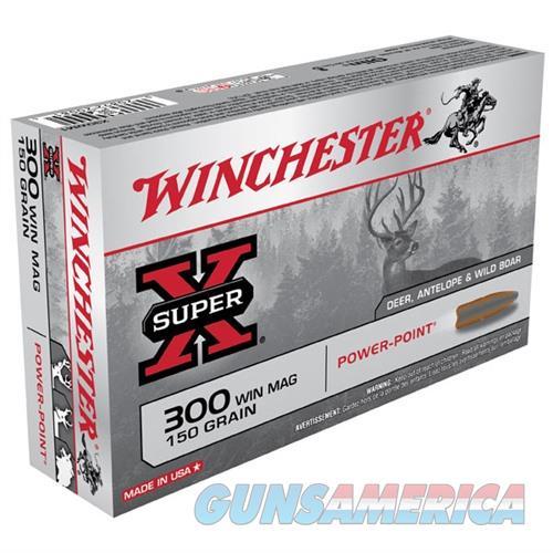 Winchester Ammo 300 Winchester Super-X 150gr PP  Non-Guns > Ammunition