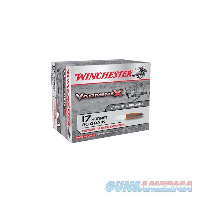 Win Ammo 17 Hornet 20gr Varmint X Polymer Tip 10/Bx 20/Cs  Non-Guns > Ammunition