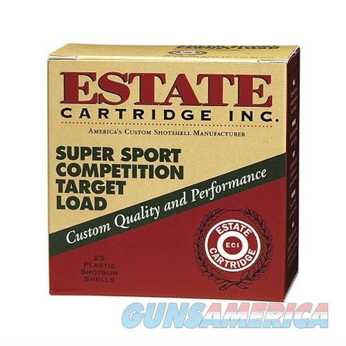 Estate Super Sport Target 12ga 2.75'' 1oz #7.5 25/bx  Non-Guns > Ammunition