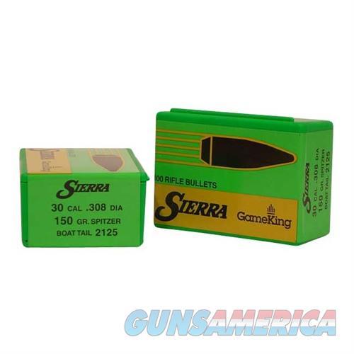 Sierra Bullet .30 7.62MM 150gr SBT  Non-Guns > Reloading > Components > Bullets