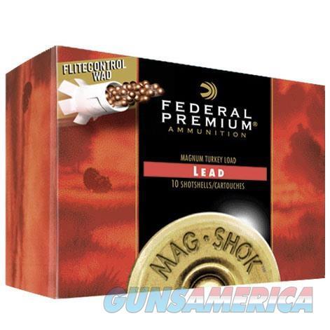 Federal Mag-Shok Turkey 12ga 3.5'' 2-1/4oz #4 10/bx  Non-Guns > Ammunition
