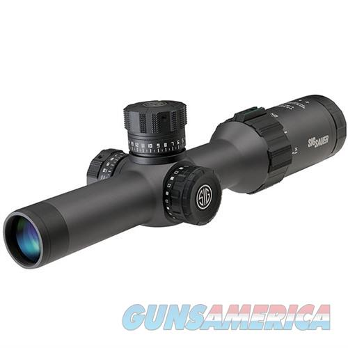 Sig Tango6 Scope, 2-12X40mm, 30mm, Ffp, Moa Illum Reticle, 0.25 M  Non-Guns > Scopes/Mounts/Rings & Optics > Rifle Scopes > Variable Focal Length