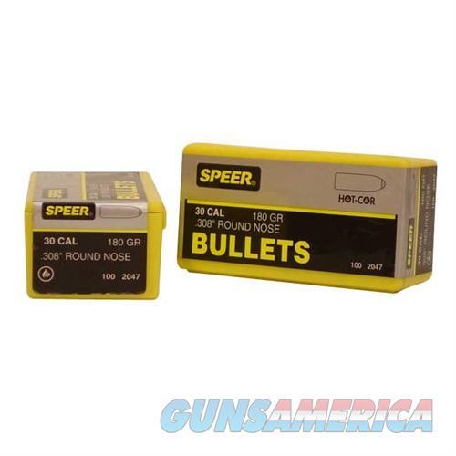 Speer Bullet .30 .308 180gr RN  Non-Guns > Reloading > Components > Bullets
