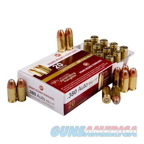 DRT TerminalShock Ammo 380 Auto 85 Gr JHP 20/bx  Non-Guns > Ammunition