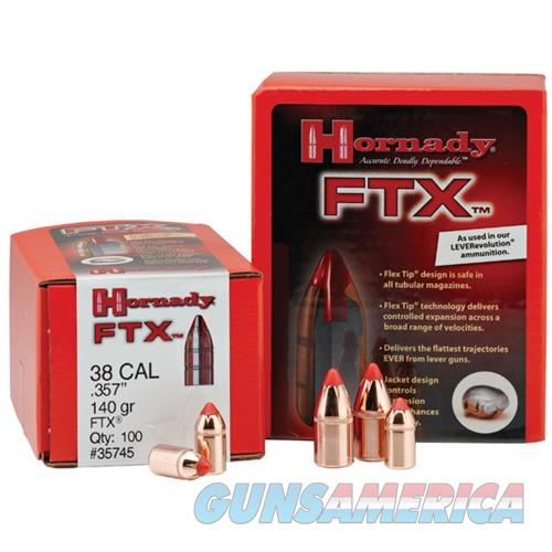 Hornady 30 Cal .308 160gr FTX (30-30 Win) 100/bx  Non-Guns > Reloading > Components > Bullets