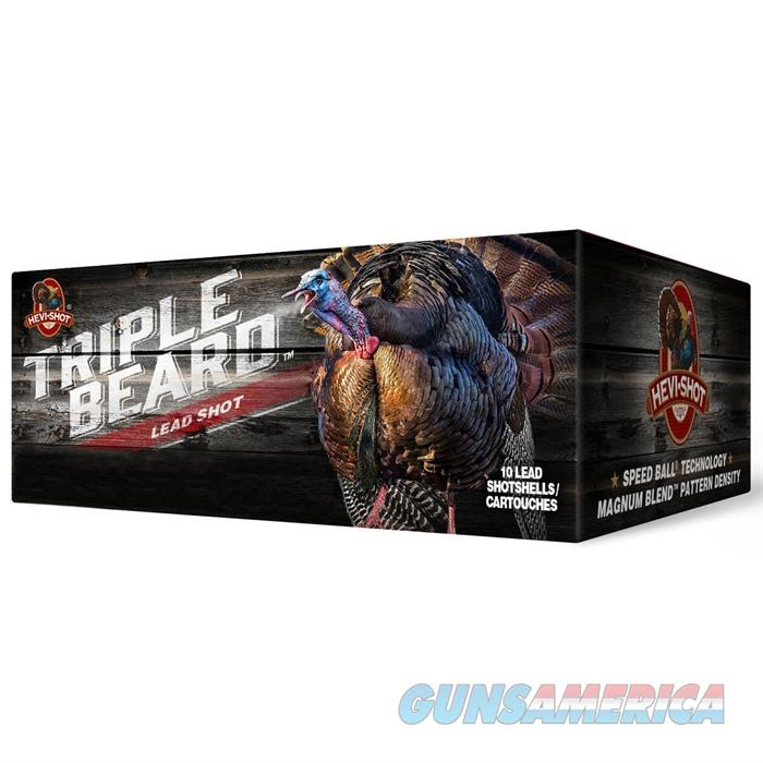 HEVI Triple Beard 12G 3'' 2 1200FPS 5,6,7SS 10/BX  10/CS  Non-Guns > Ammunition