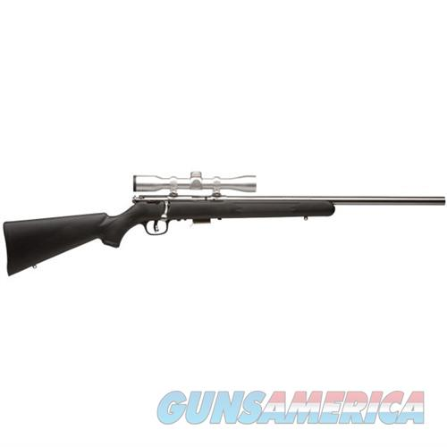 Savage FVSS XP 22WMR 21''  Stainless w/4x32 Silver Scope  Guns > Rifles > Savage Rifles > Accutrigger Models > Sporting