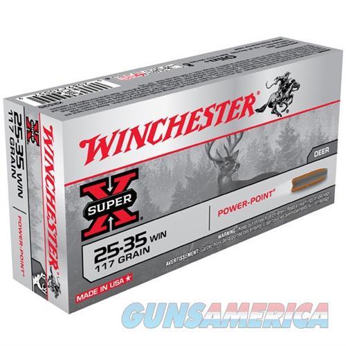 Winchester Super-X 25-35 Win 117gr Power-Point 20/bx  Non-Guns > Ammunition