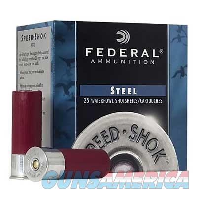 Federal Speed Shok HV Steel 12ga 3'' 1-1/8oz #BB 25/bx  Non-Guns > Ammunition