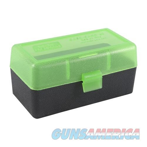 MTM  Ammo Box 50 Round Flip-Top 22-250 6mm PPC 7mm BR  Non-Guns > Military > Cases/Trunks