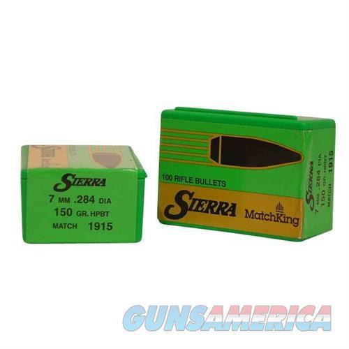 Sierra Bullet 7MM .284 150gr HPBT Match  Non-Guns > Reloading > Components > Bullets