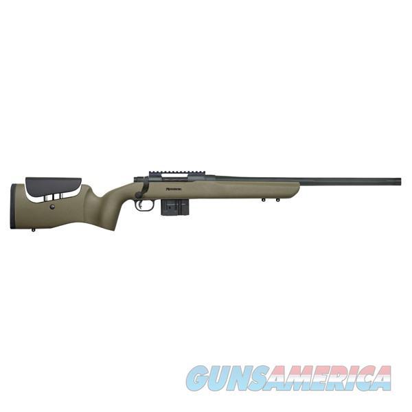 Mossberg Mvp LR 7.62 Nato 20''  Bull Threaded 11-Rd Green  Guns > Rifles > Mossberg Rifles > MVP