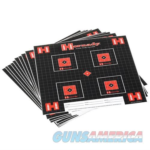 Hornady Lock-N-Load Targets 100 Sheet Pack  Non-Guns > Targets > Clay Throwers