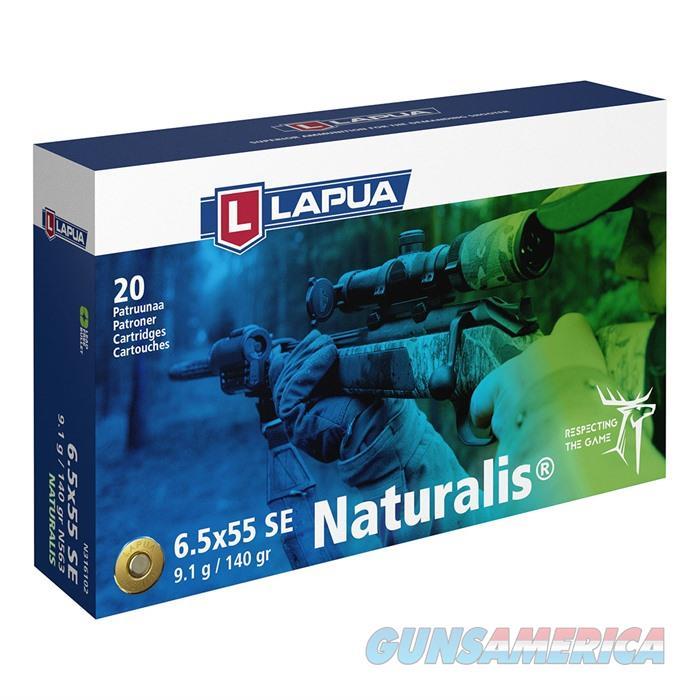Lapua Ammo 6.5x55 Swedish Naturalis 140gr 20rds/Bx 600Rds/Cs  Non-Guns > Ammunition