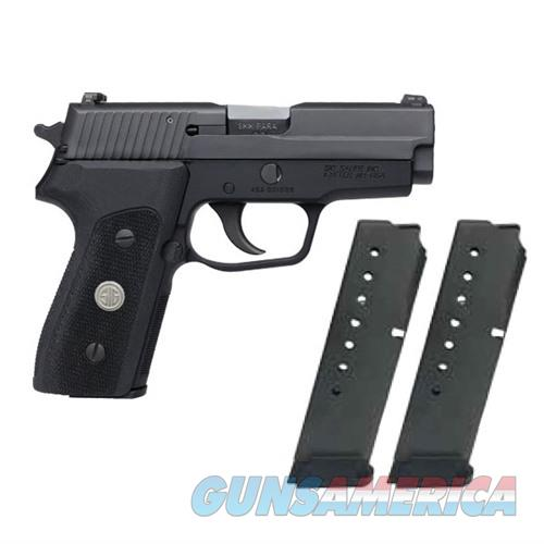 SIG Pistol P225 9mm Single Stack Blk w/ Night Sights 8rd Mags (2)  Guns > Pistols > Sig - Sauer/Sigarms Pistols > Other