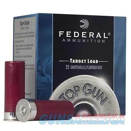 FEDERAL TOP GUN 12 GAUGE 2.75' 1OZ #7.5 25/BX  Non-Guns > Ammunition