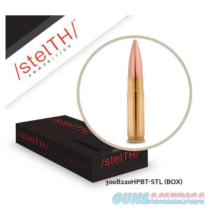 STELTH 300 Blackout 220 gr HPBT 20bx  Non-Guns > Ammunition