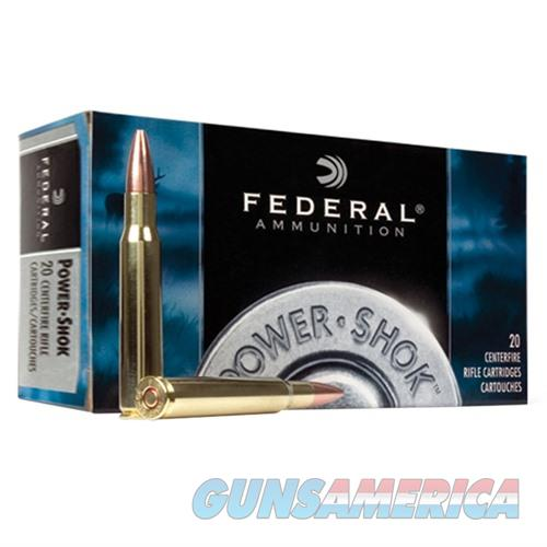 Federal Power Shok 6.5x55 Swedish 140gr SP 20/bx  Non-Guns > Ammunition