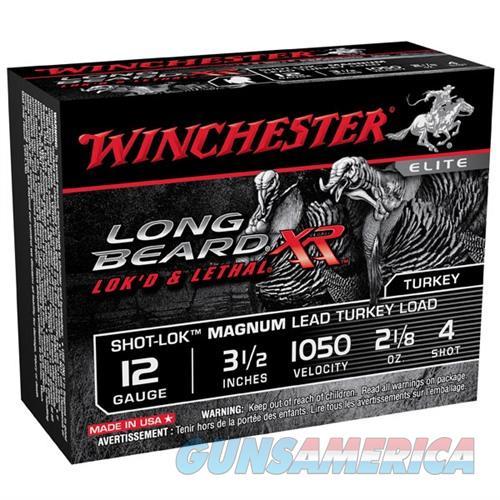 Winchester Long Beard XR 12ga 3-1/2'' 2-1/8oz #4 10/bx  Non-Guns > Ammunition