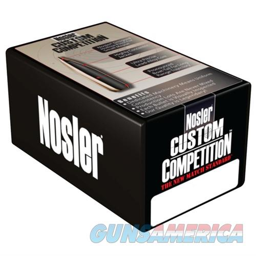 Nosler Bullet Custom Competition 8mm HPBT 200gr 100/bx  Non-Guns > Reloading > Components > Bullets