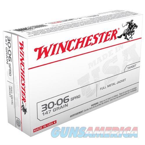 Winchester USA 30-06 147gr FMJ 20/bx  Non-Guns > Ammunition