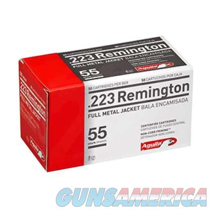AGUILA 223 REMINGTON 55GR 50/BOX  Non-Guns > Ammunition
