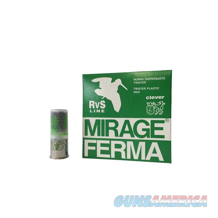 Mirage RVS Magic 12ga. 1 1/8oz  3dr. 8, 1200FPS, 22MM BRASS  Non-Guns > Ammunition