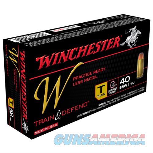 Winchester Train & Defend 40 S&W 180gr FMJ 50/bx  Non-Guns > Ammunition
