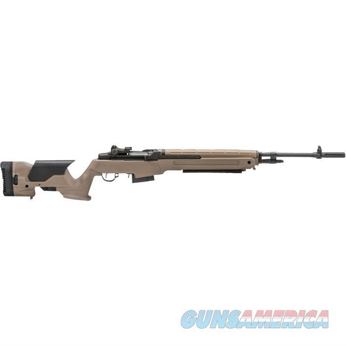 Springfield M1A 22''Bbl 7.62 (308 Win) 10 Rd FDE  Guns > Rifles > Springfield Armory Rifles > M1A/M14