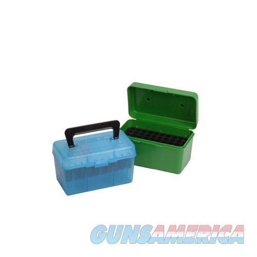 MTM  Deluxe Ammo Box 50 Round Handle 22-250 243 308  Non-Guns > Military > Cases/Trunks