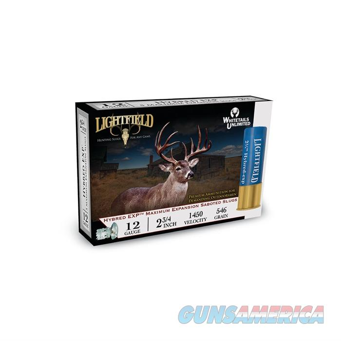 Lightfield Slug Sabot Hybrid 12ga 2.75 1.25oz  Non-Guns > Ammunition