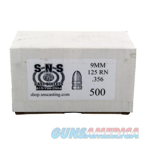 SNS CAST BULLET 9MM .356 125GR RN  Non-Guns > Reloading > Components > Bullets