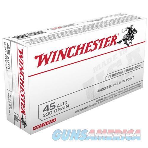 Winchester Ammo 45 ACP USA 230gr JHP  Non-Guns > Ammunition