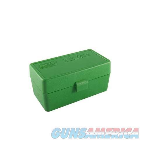 MTM  Ammo Box 50 Round Flip-Top 22-250 6mm PPC 7mm BR  Non-Guns > Military > Cases/Trunks