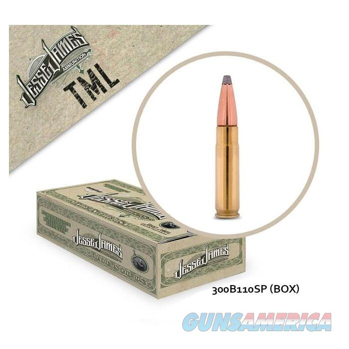 Jesse James TML 300 Blk 110gr SP 20bx  Non-Guns > Ammunition