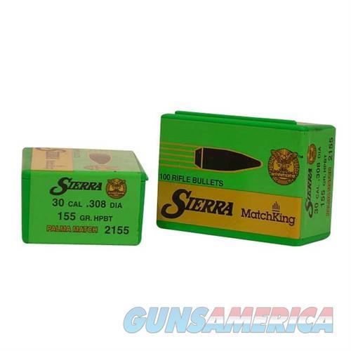 Sierra Bullet .30 7.62MM 155gr HPBT  Non-Guns > Reloading > Components > Bullets