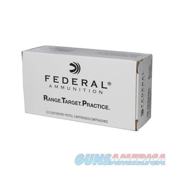 Federal Range Target Practice 38 SPL 130GR FMJ 50bx  Non-Guns > Ammunition