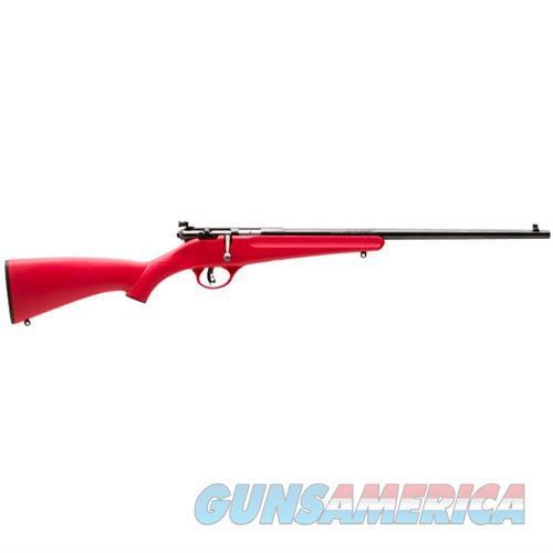 Savage Rascal 22LR 16.125''  Red  Guns > Rifles > Savage Rifles > Accutrigger Models