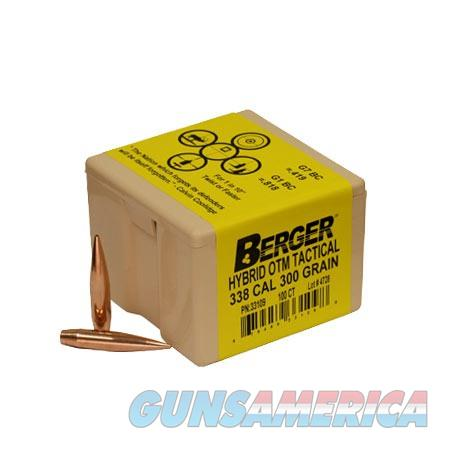 Berger Match Hybrid OTM Tactical 338 Cal 300gr 100/bx  Non-Guns > Reloading > Components > Bullets