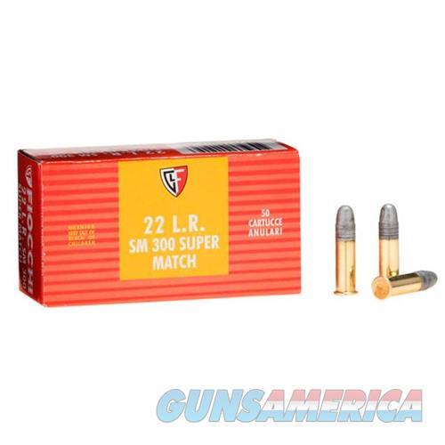Fiocchi Exacta Pistol Super Match 22LR 40gr RN 50/bx  Non-Guns > Ammunition
