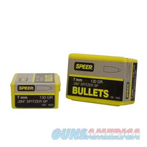 Speer Bullet 7MM .284 130gr Sptz  Non-Guns > Reloading > Components > Bullets