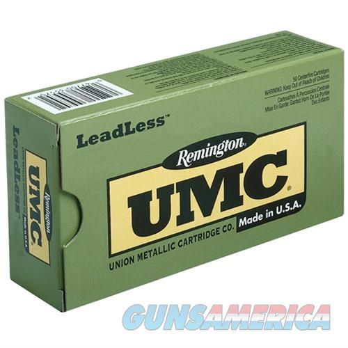 Remington UMC Leadless 380 ACP 95gr FNEB 50/bx  Non-Guns > Ammunition