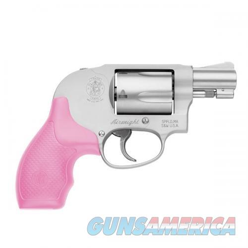 Sw 638 - Airweight  Shrouded Hammer,Pink Grips,.38 S&W Spl+P  Guns > Pistols > Smith & Wesson Revolvers > Pocket Pistols