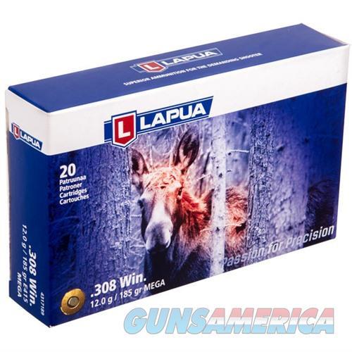 Lapua Ammo 30-06 MEGA 185gr SP 20/bx  Non-Guns > Ammunition