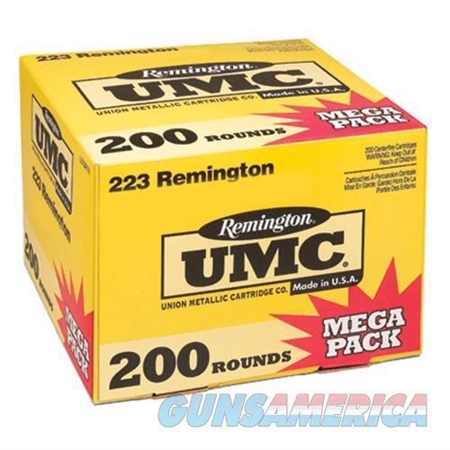 Remington UMC Mega Pack 223 Rem 55gr MC 200/bx  Non-Guns > Ammunition
