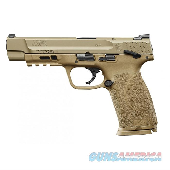 S&W M&P .40 M2.0, FDE 5'' Bbl 15Rd  Guns > Pistols > Smith & Wesson Pistols - Autos > Polymer Frame